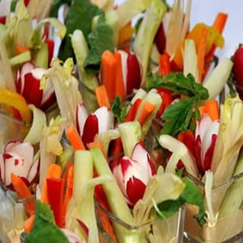 Vegetable crudités